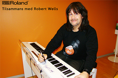 Robert Wells - Musik Mot Cancer