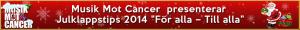 Julklapps banner - Musik Mot Cancer